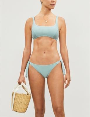 Ferrah scoop-neck bikini top