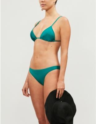 Nimes Tara triangle bikini top