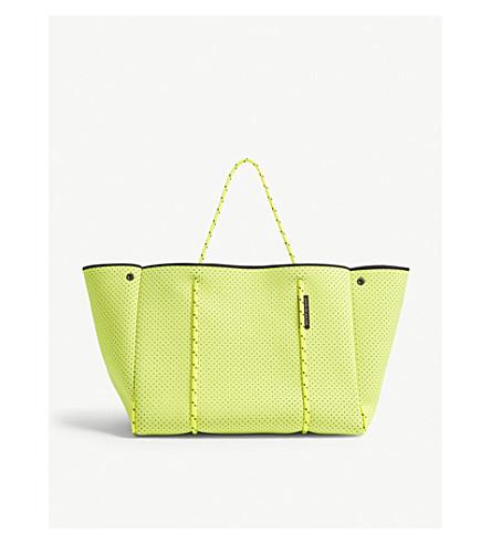STATE OF ESCAPE Escape neon neoprene tote (Neon+yellow