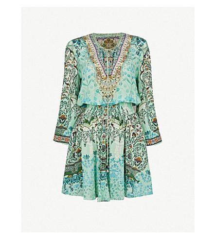 CAMILLA Spirit Within silk dress (The+spirit+within