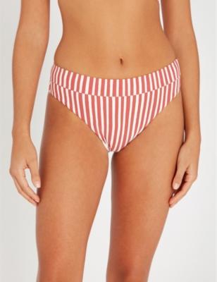 Dos Palmas mid-rise bikini bottoms