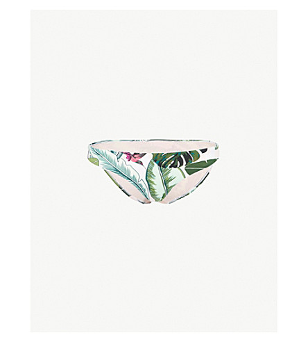 SEAFOLLY Palm Beach hipster bikini bottoms (Moss