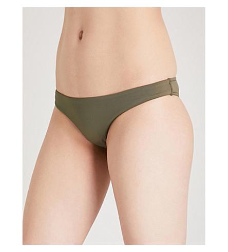 SEAFOLLY Rio bikini bottoms (Dark+olive