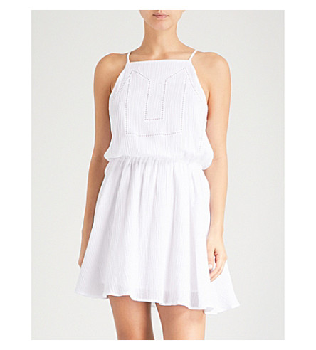 SEAFOLLY Palm Beach cotton dress (White