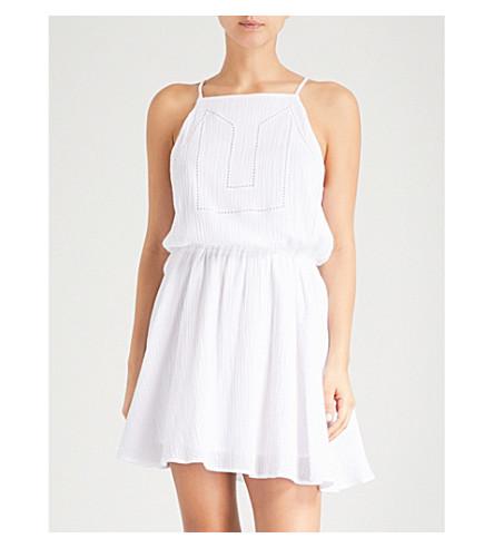 SEAFOLLY 棕榈海滩棉裙 (白色