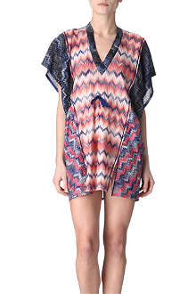 MISSONI Mixed-print kaftan
