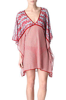 MISSONI Patterned crochet-knit kaftan