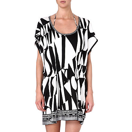 MISSONI Graphic-printed tunic (6341 black/white