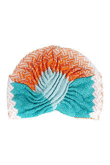 MISSONI Zigzag turban