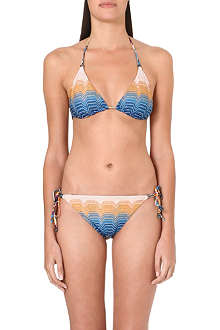 MISSONI Reversible crochet-knit bikini