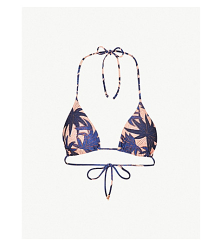 VIX Paradise triangle bikini top (Multi+035