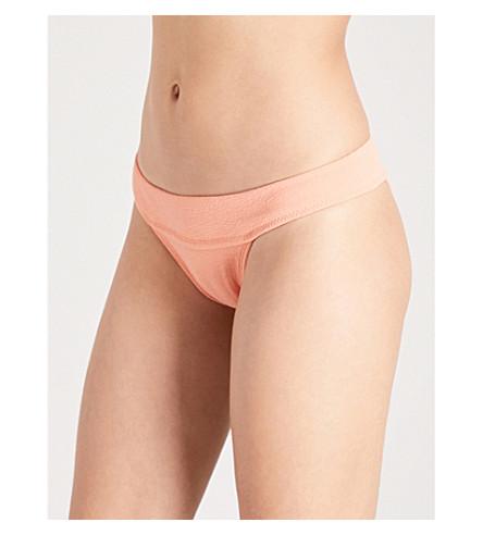 VIX Bouclé bikini bottoms (Peach