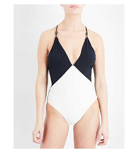 VIX Betsey Black stretch swimsuit (Black