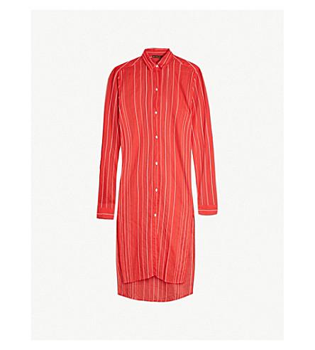 VIX Ada cotton shirt (Coral