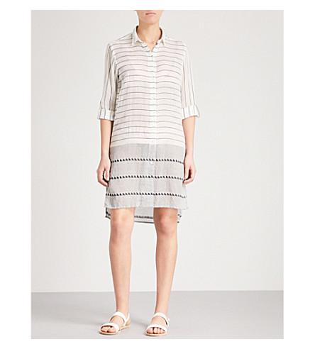 VIX Ada striped cotton chemise (Multi