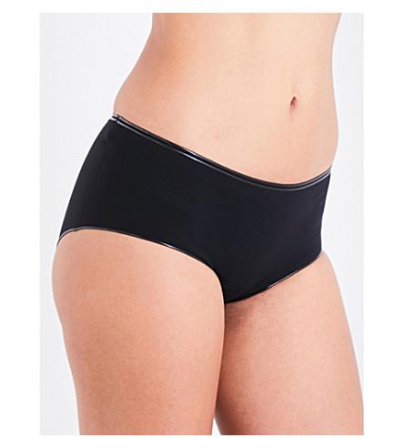 WOLFORD Swim Line bikini bottoms (Black