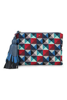ANYA HINDMARCH Courtney Eye Twister canvas pouch