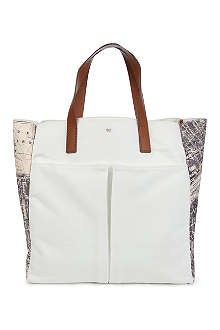 ANYA HINDMARCH Nevis london canvas bag