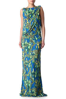 MATTHEW WILLIAMSON Cobra drape dress