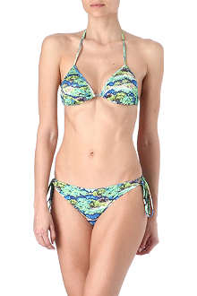 MATTHEW WILLIAMSON Electric Bay triangle bikini