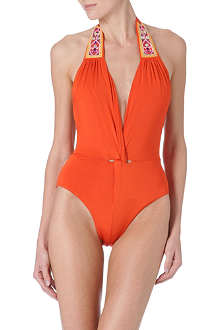 MATTHEW WILLIAMSON Embroidered swimsuit