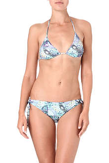 MATTHEW WILLIAMSON Heritage butterfly triangle bikini