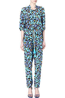 MATTHEW WILLIAMSON Leopard-print jumpsuit