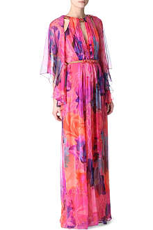 MATTHEW WILLIAMSON Acid Floral beaded dress