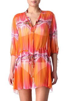MATTHEW WILLIAMSON Electric bay shirt dress