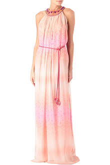 MATTHEW WILLIAMSON Sunset lace beaded dress