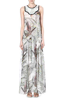MATTHEW WILLIAMSON Song Bird silk dress