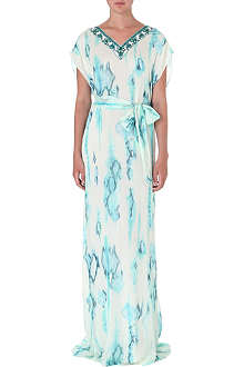 MATTHEW WILLIAMSON Tie-dye silk gown