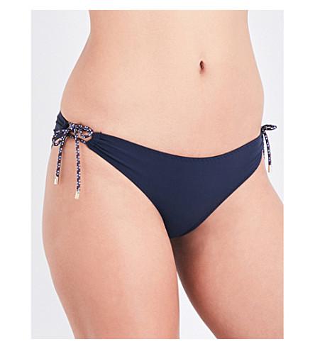 STELLA MCCARTNEY Lacing tie-side bikini bottoms (Sky+captain
