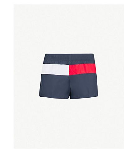 TOMMY HILFIGER Runner shell shorts (Navy+blazer