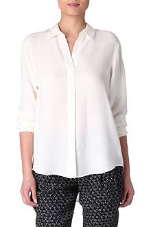 THEORY Rosita silk shirt