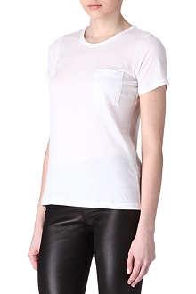 THEORY Pocket cotton t-shirt