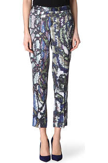 THEYSKENS' THEORY Printed cropped trousers