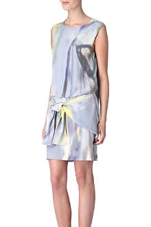THEYSKENS' THEORY Dinta tie-skirt dress