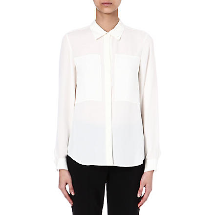 THEORY Silk shirt (White