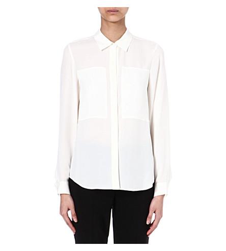 THEORY Silk shirt (White