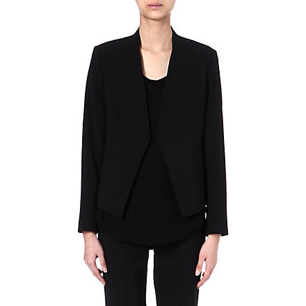 THEORY Wool-blend blazer (Black