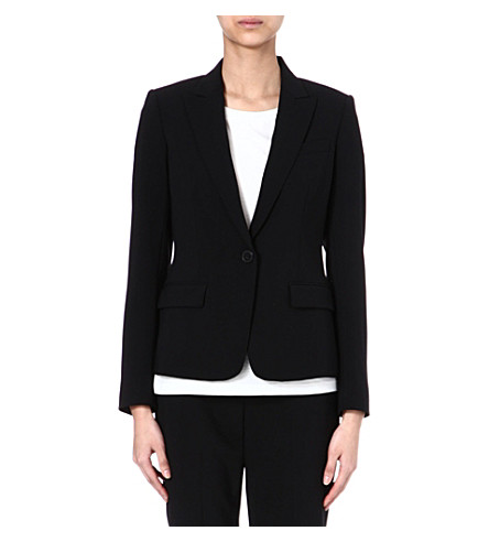 THEORY Wool-blend jacket (Black