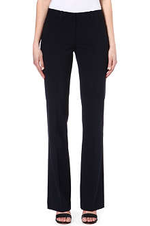 THEORY Wool-blend flared trousers