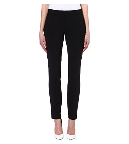 THEORY Straight leg trousers (Black