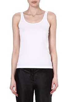THEORY Malory 2 cotton vest top