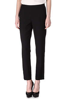 THEORY Mitri crepe trousers