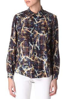 THEYSKENS' THEORY Printed silk shirt