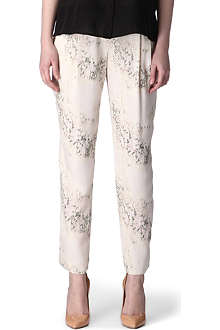 THEORY Cherry blossom trousers