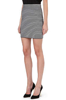 THEORY Charlot striped skirt