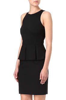 THEORY Fefe peplum dress